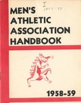 1958-1959 Athletic Association Handbook by State University of New York College at Cortland