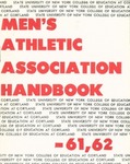 1961-1962 Athletic Association Handbook by State University of New York College at Cortland