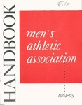 1964-1965 Athletic Association Handbook by State University of New York College at Cortland