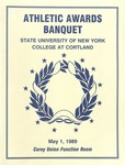 1989 Athletic Awards Banquet