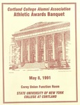 1991 Athletic Awards Banquet