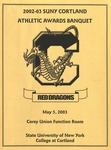 2003 Athletic Awards Banquet