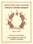 1990 Athletic Awards Banquet by State University of New York College at Cortland