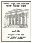 1994 Athletic Awards Banquet by State University of New York College at Cortland