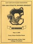 2000 Athletic Awards Banquet by State University of New York College at Cortland