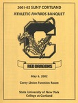 2002 Athletic Awards Banquet by State University of New York College at Cortland