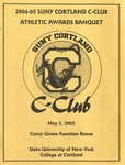 2005 Athletic Awards Banquet by State University of New York College at Cortland
