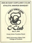 2006 Athletic Awards Banquet by State University of New York College at Cortland