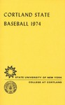 1974 Team Guide, Baseball by State University of New York College at Cortland