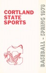 1978 Team Guide, Baseball by State University of New York College at Cortland