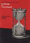 1979-1981 Undergraduate College Catalog by State University of New York College at Cortland