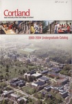 2003-2004 Undergraduate College Catalog by State University of New York College at Cortland