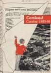 1985-1986 Undergraduate & Graduate College Catalog