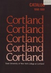 1990-1991 Undergraduate & Graduate College Catalog by State University of New York College at Cortland