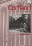 1994-1995 Undergraduate & Graduate College Catalog by State University of New York College at Cortland