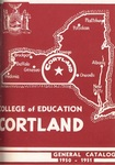 1950-1951 Undergraduate & Graduate College Catalog