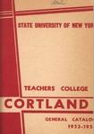 1953-1954 Undergraduate & Graduate College Catalog