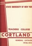 1954-1955 Undergraduate & Graduate College Catalog