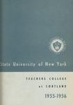 1955-1956 Undergraduate & Graduate College Catalog
