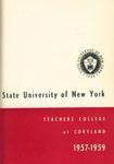 1957-1959 Undergraduate & Graduate College Catalog