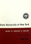 1959-1961 Undergraduate & Graduate College Catalog