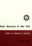1961-1962 Undergraduate & Graduate College Catalog
