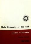 1962-1963 Undergraduate & Graduate College Catalog