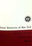 1963-1964 Undergraduate & Graduate College Catalog