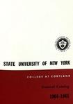 1964-1965 Undergraduate & Graduate College Catalog