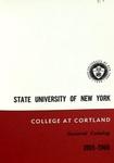 1965-1966 Undergraduate & Graduate College Catalog