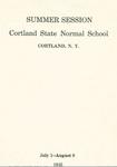 1935 Summer College Catalog