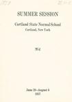 1937 Summer College Catalog