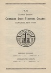1944 Summer College Catalog