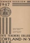 1947 Summer College Catalog