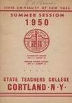 1950 Summer College Catalog