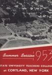 1953 Summer College Catalog