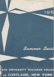 1954 Summer College Catalog