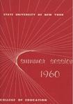 1960 Summer College Catalog