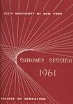 1961 Summer College Catalog