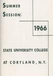 1966 Summer College Catalog