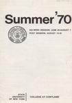 1970 Summer College Catalog