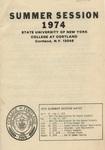 1974 Summer College Catalog