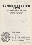 1975 Summer College Catalog
