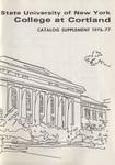 1976-1977 Summer College Catalog