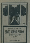 1907 College Circular by State University of New York College at Cortland