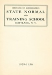 1929-1930 College Circular by State University of New York College at Cortland