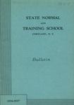 1936-1937 Bulletin