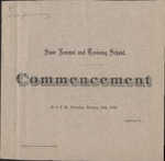 1876 Commencement Program
