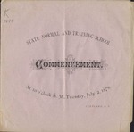 1878 Commencement Program