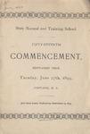 1899 Commencement Program